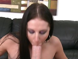 Stupendous darling Raquel worships being nailed