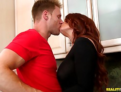 Sassy playgirl Janet Mason gets a hard ride
