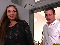 Alluring Conny Carter blowing valuable