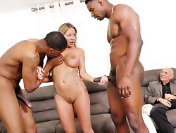 Rachele Richey Multiracial Threesome Sex - Cuckold Sessions