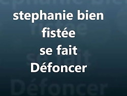 STEPHANIE SE FAITFISTER PUIS DEMONTER -