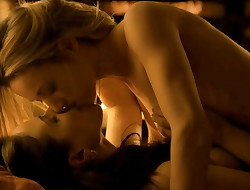 Zoie Palmer And Anna Silk Nude Lesbo Scene In Lost Doll